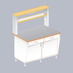 Столы пристенные серии ЛАБ-PRO